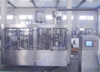 Automatic Operated Liquid Filling Machine / Water Bottling Plant Machine