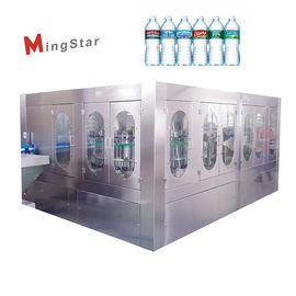 Stainless Steel Automatic Bottle Filling Machine High Speed Pure Water Producing